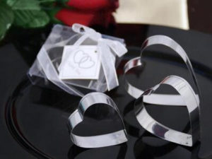 Heart Shaped Cookie Cutter Favours (3pc Set)