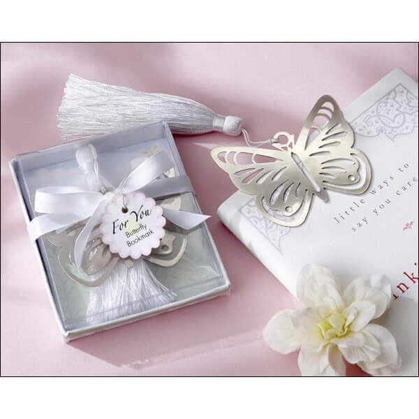 Butterfly Bookmark Favour with Tassel
