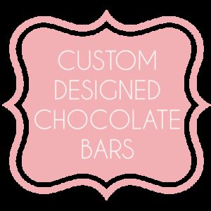 Custom Designed Chocolate Bars