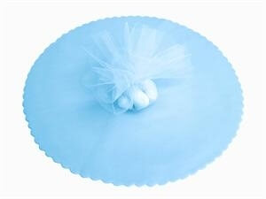 Baby Blue Tulle Circles