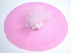 Baby Pink Tulle Circles