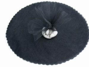 Black Tulle Circles