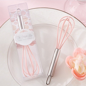 """The Perfect Mix"" Pink Kitchen Whisk Favour"