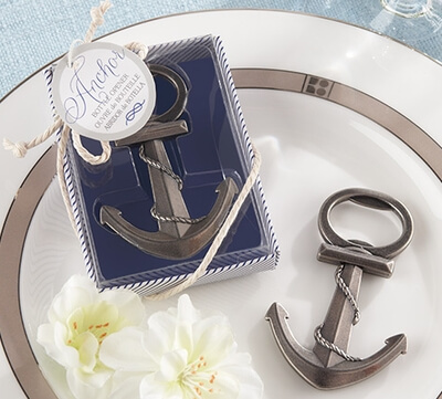 anchor bottle opener favour