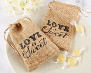 love is sweet favour bags