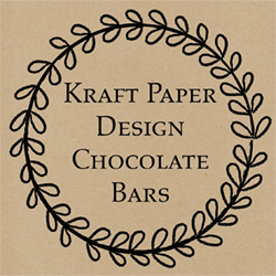 Kraft Paper Chocolate Bars