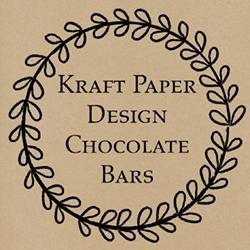 Kraft Paper Chocolate Bars