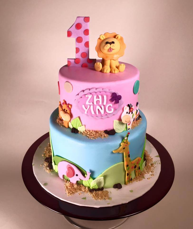 Rick From Cake Lava In Hawaii Designed An Adorable 1st Birthday For Twin Babies He Was Given Free Reign On