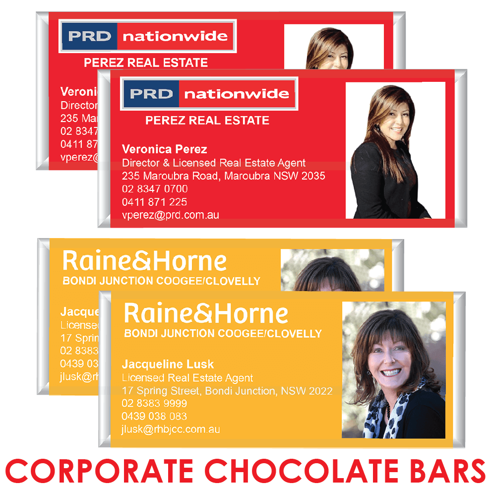 Corporate Chocolate Bars