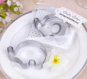 elephant cookie cutter favour