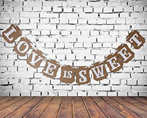 love is sweet bunting