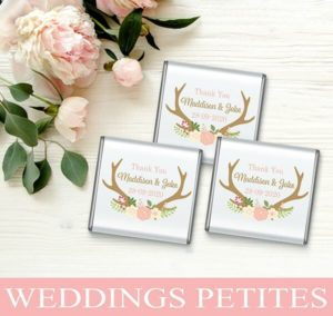 Petite Wedding Chocolates